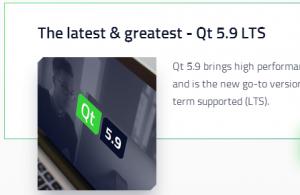 Qt 5.9 LTS 发布
